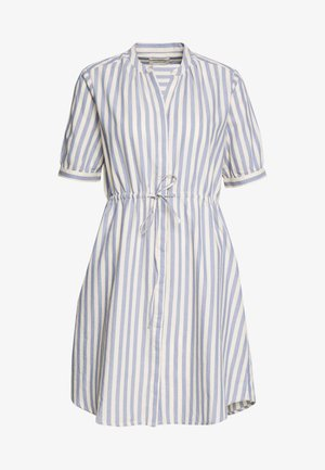 SLFZENIA DRESS PETITE - Sukienka koszulowa - country blue/sandshell