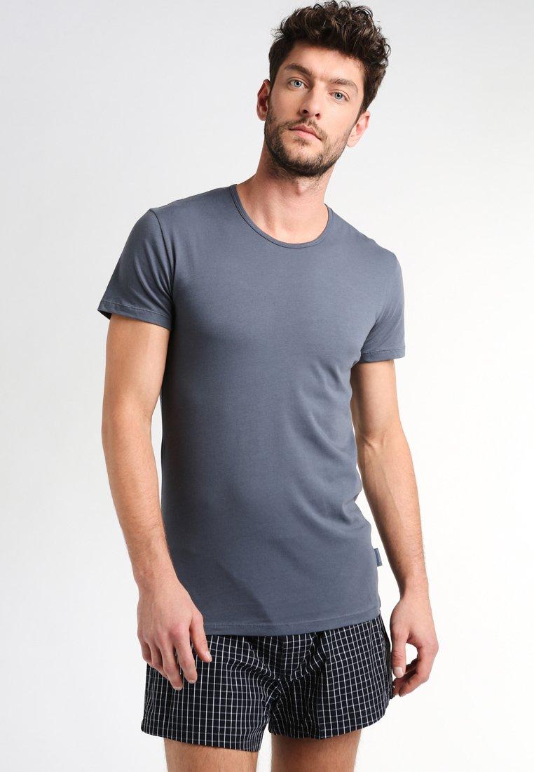 Sloggi - 24/7 O-NECK 2 PACK - Undershirt - stormy grey