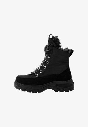 RAIBL - Botines con cordones - black