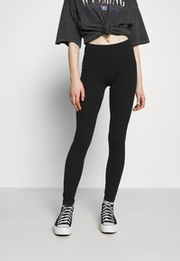 Vero Moda - VMMAXI LONG 2 PACK  - Leggings - Trousers - black - 1