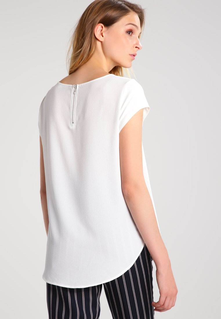 Femme ONLVIC S/S SOLID NOOS WVN - Blouse