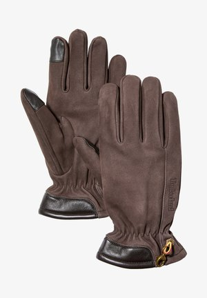 GLOVE TOUCH TIPS - Gloves - brown
