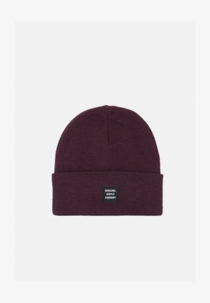 ABBOTT BEANIE - Bonnet - blackberry wine