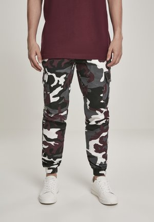 Tracksuit bottoms - darkground camo
