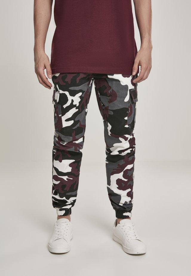Teplákové kalhoty - darkground camo