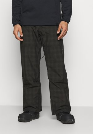 TUCK KNEE  - Snow pants - black