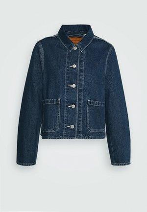 UTILITY CHORECOAT - Kurtka jeansowa - lead balloon