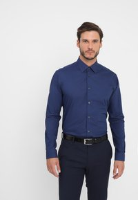 Esprit Collection - SLIM FIT - Formal shirt - navy - 0