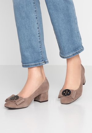 PATTY - Classic heels - taupe