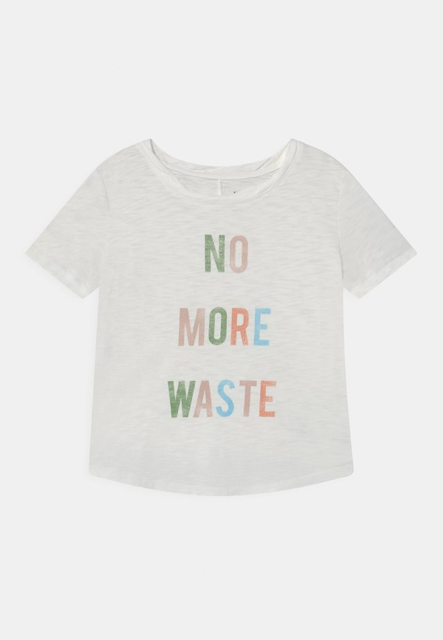 GIRL GREEN LABEL TEE - T-shirt print - new off white