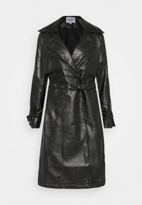 NA-KD - COAT - Trenchcoat - black - 4