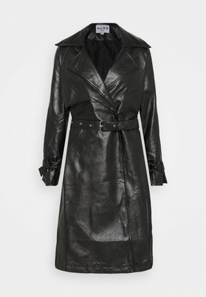COAT - Trenčkot - black