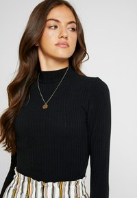 New Look - TURTLE NECK BODY - Long sleeved top - black