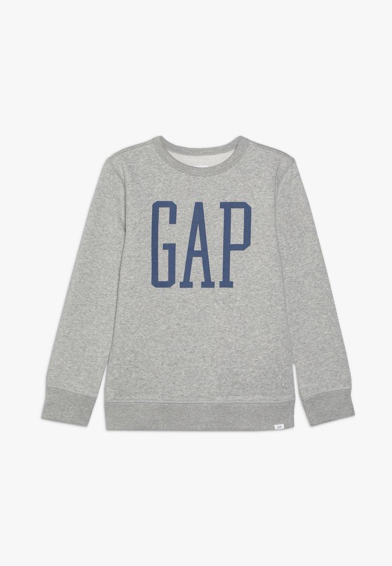 GAP - BOY LOGO - Sudadera - light heather grey