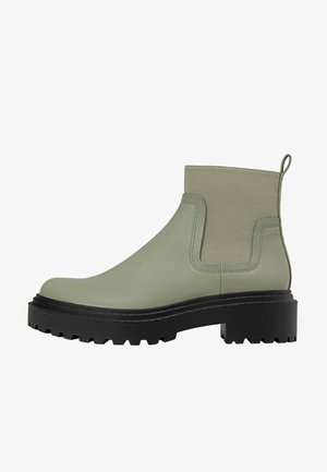 Classic ankle boots - dark green