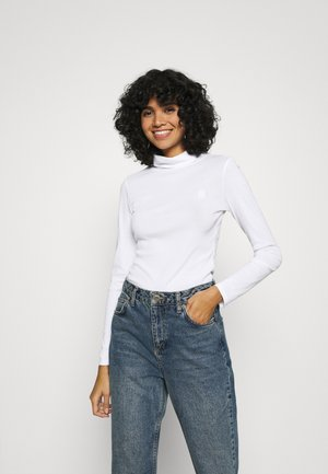 XINVA SLIM TURTLE LONG SLEEVE C - Longsleeve - white