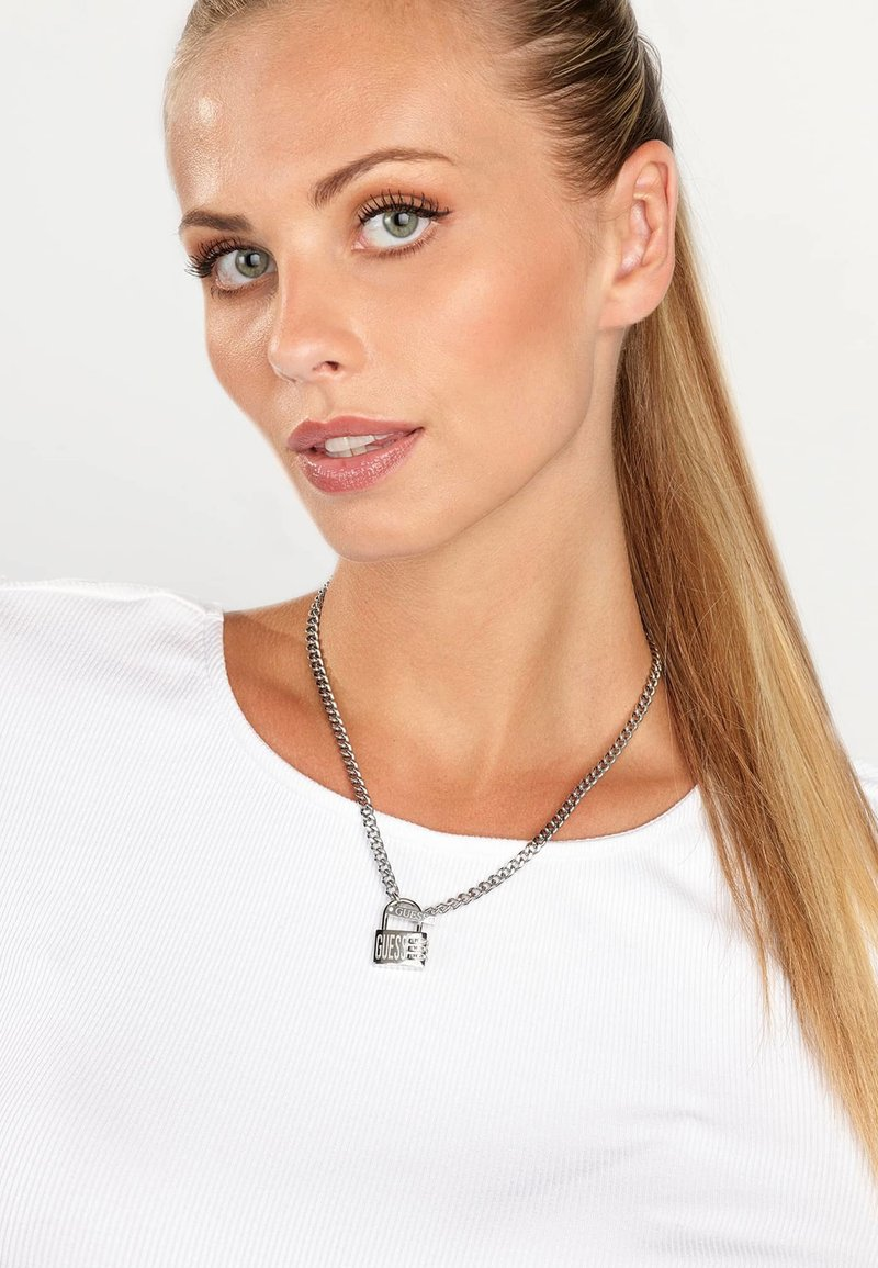 Guess - LOCK ME UP - Collana - silber