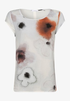FLINKA BLURRY - Blouse - ecru terra