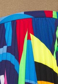 Lauren Ralph Lauren - SKIRT - Pleated skirt - black/multi - 3