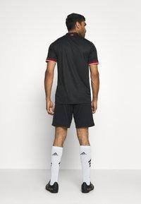 adidas Performance - DFB DEUTSCHLAND A SHO - Träningsshorts - black - 2