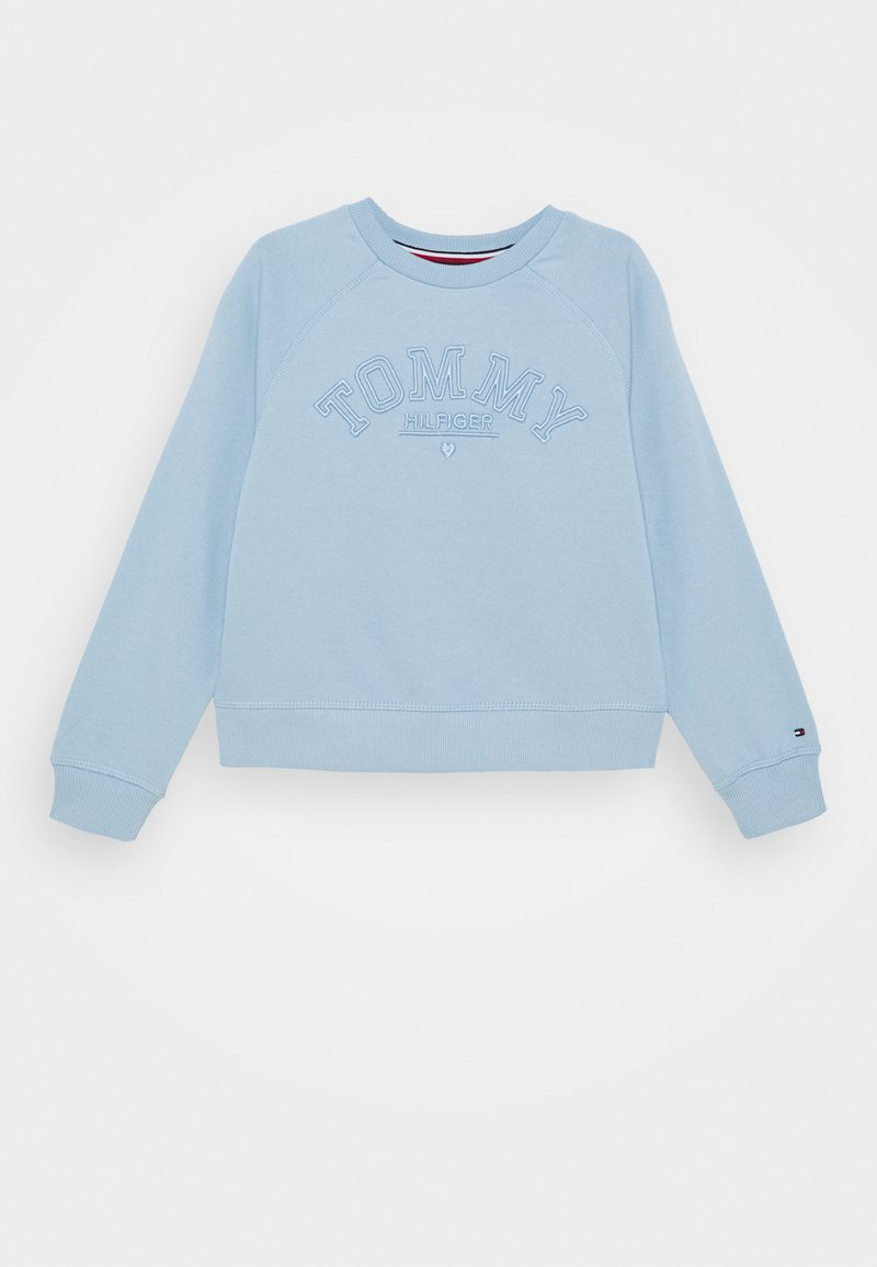 Tommy Hilfiger - TONAL EMBROIDERED GRAPHIC CREW - Felpa - blue