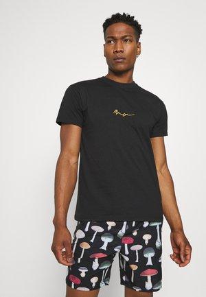 ESSENTIAL REGULAR TEE UNISEX - T-shirt basique - black