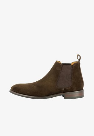 STEFANO - Classic ankle boots - dark brown