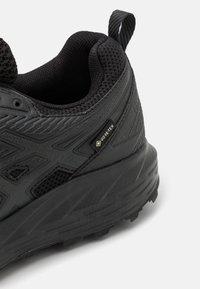 ASICS - GEL SONOMA 6 GTX - Trail running shoes - black - 5