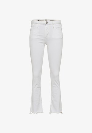 HALLE KICK  - Flared Jeans - off white