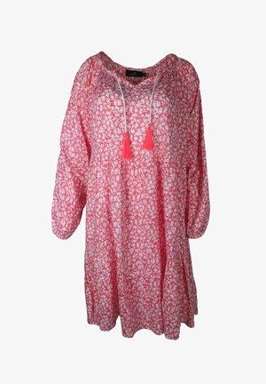 SENTA - Day dress - pink/weiß