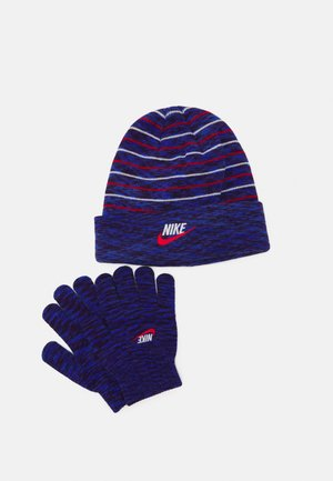 SPACE DYED BEANIE AND GLOVES SET UNISEX - Muts - game royal