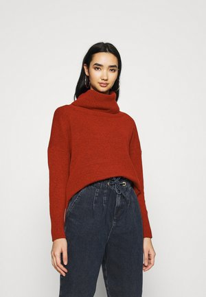 VMCARINA2 ROLLNECK - Svetr - chinese red