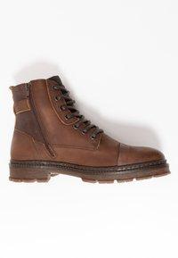Bullboxer - Šněrovací kotníkové boty - brown - 1