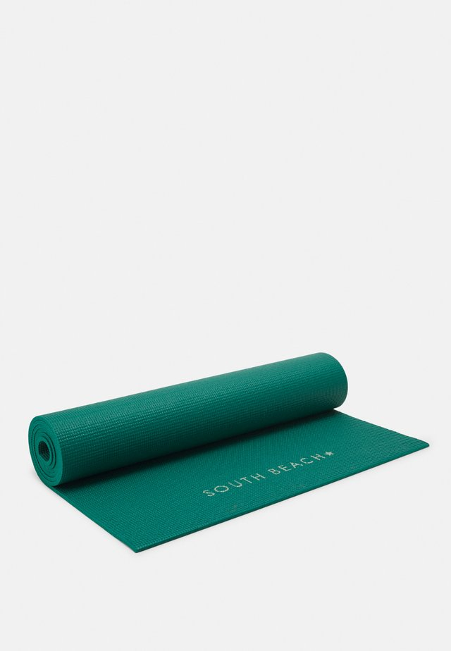 MAT WITH POWER SLOGAN - Fitness / Yoga - green/mint