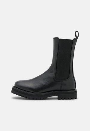 BOLINIARI - Platform ankle boots - black