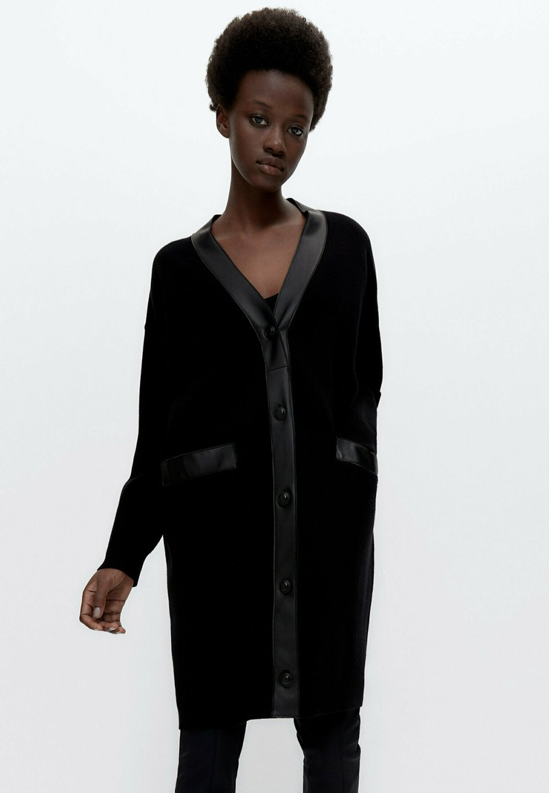 Uterqüe - Cardigan - black