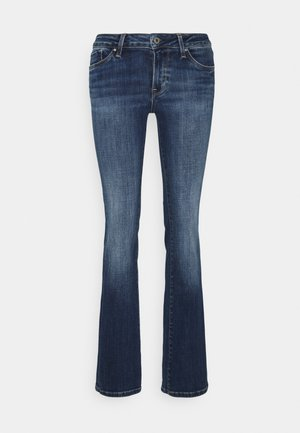 PICCADILLY - Jeans bootcut - stone blue denim