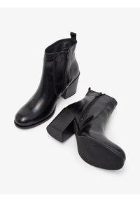 Bianco - BIADELMA - Classic ankle boots - black - 3