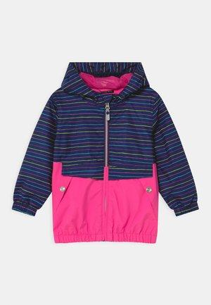 JOYLILY UNISEX - Waterproof jacket - neon pink