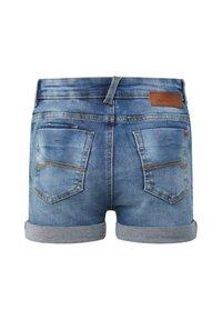 WE Fashion - Denim shorts - dark blue - 1
