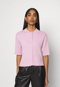 Monki - CAT - Button-down blouse - pink - 0