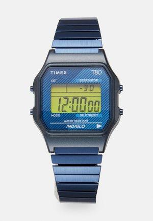 T80 UNISEX - Montre à affichage digital - blue