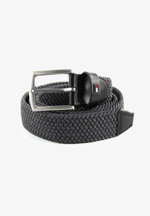 DENTON  - Braided belt - pewter grey