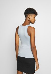Nly by Nelly - A SIMPLE TANK - Top - blue/gray - 2