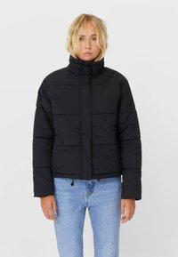 Stradivarius - Winter jacket - black - 0