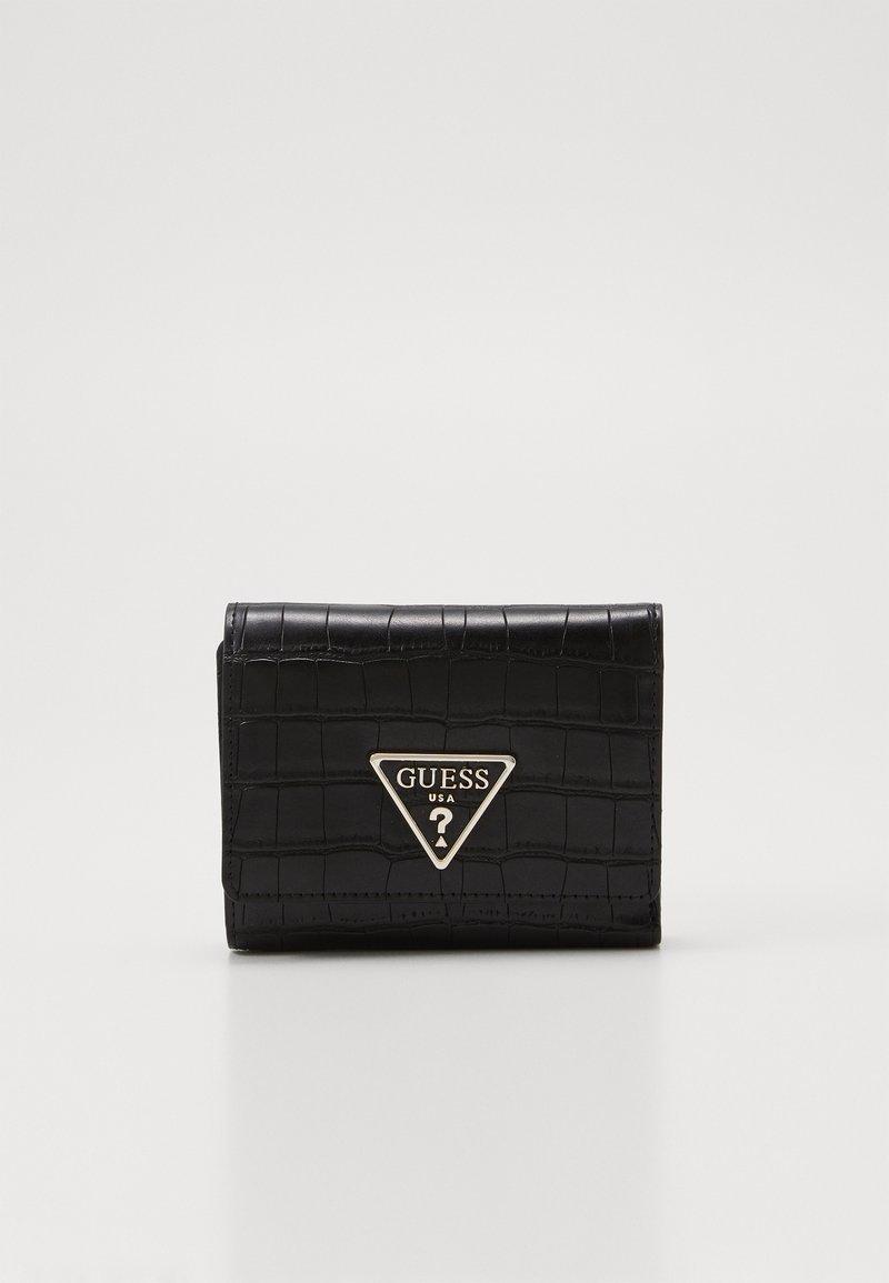 Guess - MADDY SMALL TRIFOLD - Peněženka - black