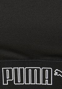 Puma - MID IMPACT ELASTIC PADDED BRA - Sports-BH-er med medium støtte - black - 6