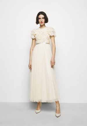 SHIRLEY RIBBON BODICE DRESS - Abito da sera - champagne
