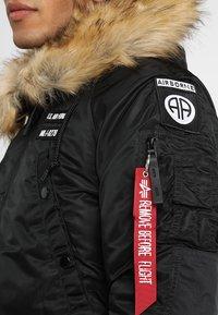 Alpha Industries - AIRBORNE - Winter coat - black - 9