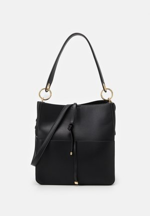 POCKET HOBO - Handbag - black